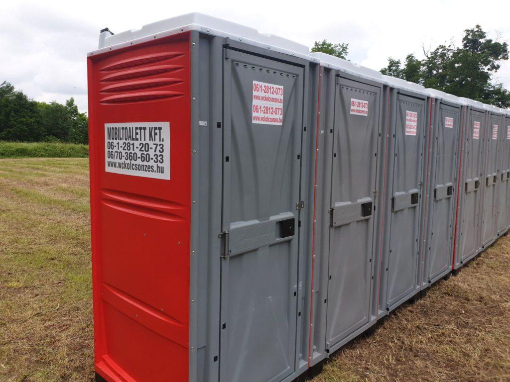 Mobil WC külső