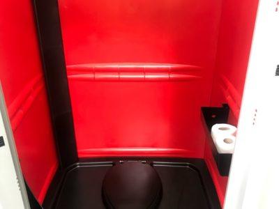 Mobil WC belső